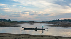 Piyain River (Rafio Islam) Tags: piyain river sylhet jaflong boat sky cloud