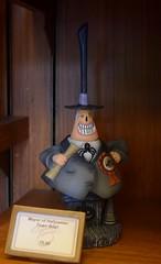 Disneyland Visit 2016-10-30 - Main Street - Disneyana - Halloween Merchandise - Nightmare Before Christmas - Mayor of Halloween Town Figurine (drj1828) Tags: us visit 2016 merchandise disneyland disneyana nightmarebeforechristmas