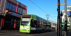 Tramlink unit 2547 on service 3 West Croydon 04/12/16. (Ledlon89) Tags: tramlink croydon london tram tramway trams tfl londontramlink bombardier