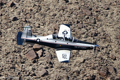 USAF T-6A Texan II 06-3854 (birrlad) Tags: rainbow canyon valley california usa airport airplane airplanes aviation aircraft flying flypast flyby flyover low level turboprops prop training usaf t6a texan ii 063854 beechcraft raytheyon