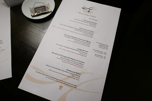 Tasting Menu at Le Hatley