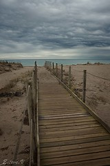 la gola del ter (teve61) Tags: girona gerona baixemporda goladelter playa tormenta