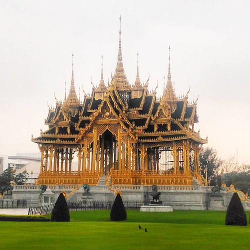 Borommangalanusarani Pavilion #thai #arts #crafts #thailand #bangkok #art #craft #palace #pavilion