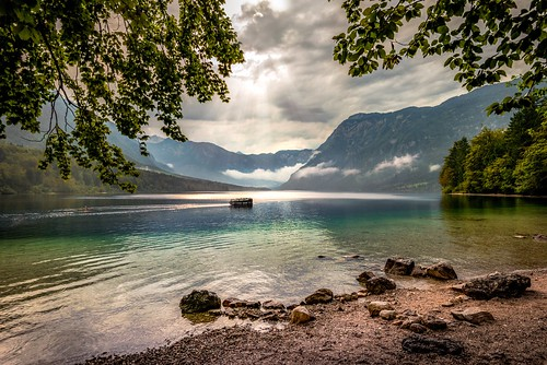 Lake Bohinj by Bernd Thaller, on Flickr