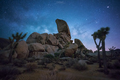 'The Monolith' - Ryan Campground, Joshua Tree National Park (Gavin Hardcastle - Fototripper) Tags: joshua tree national park california milky way astrophotography night photography nightscapes stars galaxy galactic core long exposure desert summer nighttime gavinhardcastle fototripper