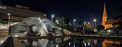 Spray it again, Margel (OzzRod) Tags: pentax k1 irix15mmf24blackstone night longexposure fountain civicpark newcastle