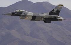 Nellis Aggressors F-16 283 (dcnelson1898) Tags: 2016aviationnationairshow nellisairforcebase lasvegas nevada airshow airplanes militaryhistory unitedstatesairforce agressorsquadron f16falcon viper training