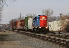 GT Epidemic (BravoDelta1999) Tags: grandtrunkwestern gtw railroad canadiannational cn railway wisconsincentral wc sooline soo neenahsubdivision neenah wisconsin emd gp382 4911 manifest train