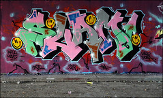 Slam (Alex Ellison) Tags: slam tbf thebufffails ctr cityrollers cp5 dci mh mhb northlondon urban graffiti graff boobs halloffame hof