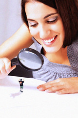 this_isn_t_funny__by_balore84-d65k7cd (iggy62pop2) Tags: shrinkingman sexy examine micro babe magnifyingglass giantess