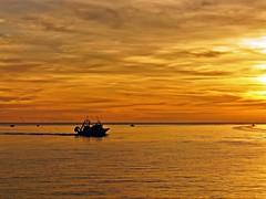 Saliendo a pescar (Antonio Chacon) Tags: andalucia atardecer marbella mlaga mar mediterrneo espaa spain sunset costadelsol