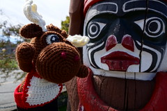 DSC00498 (The Crochet Crowd) Tags: crochetmoose amigurumi moose crochet doll alaska britishcolumbia thecrochetcrowd michaelsellick jeannesteinhilber danielzondervan crochetcruise mooseontheloose
