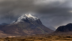 Marsco under cloud (lawrencecornell25) Tags: landscape skye isleofskye scotland scenery mountains nature outdoors stormy cloudy marsco nikond5