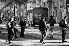 Santiago de Chile (Alejandro Bonilla) Tags: santiago chile street city urban bw monocromo monocromatico