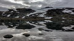 Bverbrean Glacier (MC-80) Tags: smrstabbrean glacier jotunheimen norway sognefjellet sognefjellsveien sogn fjordane luster bverdalen norwegen sunset light sonnenuntergang bverbrean bvervatnet outdoor wasser wolke ozean