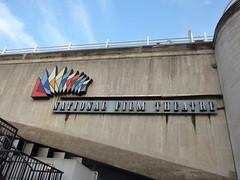 The South Bank, London from the Waterloo Bridge - National Film Theatre (ell brown) Tags: southbank riverthames londonboroughoflambeth londonboroughofsouthwark bankside london greaterlondon england unitedkingdom greatbritain waterloobridge lambeth southbankcentre nationalfilmtheatre sign