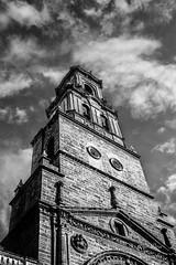 Iglesia de Santa Maria (abeliyo) Tags: iglesia church utrera sevilla andalucia cielo bw black nocolor monocrome