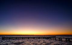 Sunrise at the lake (Wouter de Bruijn) Tags: fujifilm xt1 fujinonxf14mmf28r sunrise dawn morning nature landscape outdoor lake water jetty pier calm serene