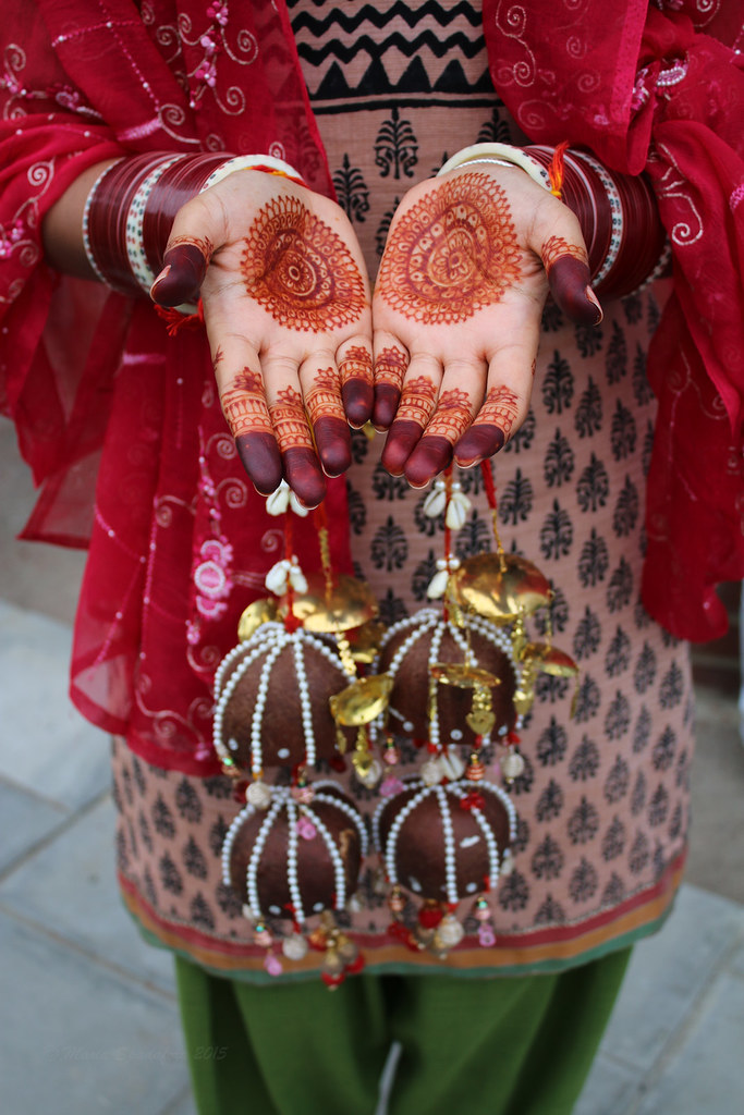 Seetals Chura Bangle Ceremony Maria Spadafora BloodyNoraDJ Tags IndianBridalHome Wedding