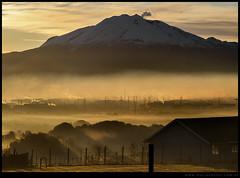 Amanecer en el volcán Calbuco
