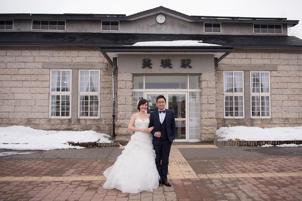 '日本北海道婚紗,北海道雪地婚紗,北海道度假婚紗,