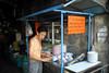 Krung Thep, the city of angels (slow paths images) Tags: street travel man work asian thailand soup asia southeastasia bangkok cook streetlife thai streetfood foodstall krungthep thecityofangels fredcan