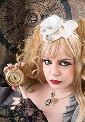 """Almost tea-time"" (Azadeh Brown) Tags: fairytale doll cosplay fantasy clockwork teaparty dollhouse darkart steampunk darkbeauty darkfairytale clockpunk steamgoth clockworkdoll professormaelstromme azadehbrown"