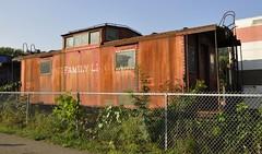 Nelsonville, Ohio (5 of 5) (Bob McGilvray Jr.) Tags: railroad ohio train reading scenic tracks caboose cr conrail crr stored rdg nelsonvilleohio hockingvalleyscenicrailway clinchfield
