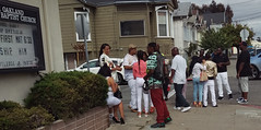 Repast - West Oakland (vision63) Tags: california black home oakland bay african young going east funeral american area murder norcal northern homicide repast imag3764