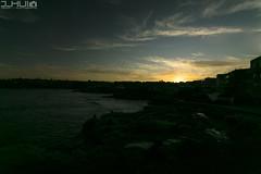 IMG_0952 (Joseph Hui (J_HUI)) Tags: ocean longexposure people cloud sun beach water bondi canon landscape sand rocks sydney 1740 6d tamarama jhui
