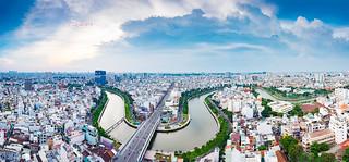 Revival of Nhiêu Lộc - Thị Nghè river  | Panorama version