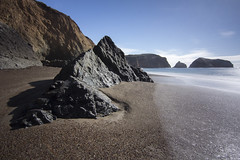 Rodeo Beach (DerickCarss) Tags: ocean california county ca beach san francisco rocks pacific cove marin headlands rodeo
