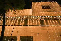 Lit Up (Engineer J) Tags: wedding yellow lights brother mehndi 2015 ubtan