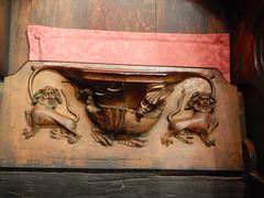 DSCN1903 (Richard Paul Carey) Tags: cathedral medieval carlisle misericords carvedwoodwork