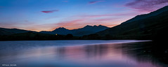 Sunset Over The Horseshoe (Paul Sivyer) Tags: snowdon capelcurig llynmymbyr snowdonhorseshoe paulsivyer wildwalescom
