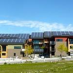 環境保全型集合住宅の写真