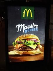 McDonald's Maestro Burger Billboard (harry_nl) Tags: netherlands burger nederland denhaag mcdonalds billboard maestro 2015