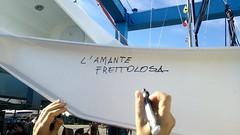 L'amante frettolosa! (h2bob) Tags: wood party boat sailing homemade mayo woodenboat plywood varo woodboat homemadeboat woodensailingboat mayo637