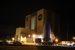 GOES-R is Tranported from Astrotech to VIF at Pad 41 (NOAASatellites) Tags: goesr astrotech vif pad41 noaa ula atlasv centaurupperstage nasa nesdis noaasatellites noaasatelliteandinformationservice ksc countdowntolaunch roadtolaunch spacesegment launchvehicle spacecraft nextgeneration weathersatellite satellite bestof