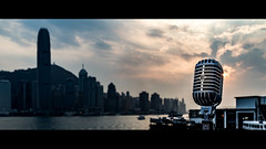 Elvis & The Hong Kong Skyline - Tsim Sha Tsui Hong Kong (splicestudios) Tags: classic tourism mike beautiful rock architecture zeiss 35mm vintage movie asian hongkong asia widescreen stage sony elvis cybershot hong kong rockroll microphone letterbox hip mic fullframe oriental 55 cinematic splice shure carlzeiss filmlook dontsteal super55 2391 shure55sh sh55 soundsgood donotsteal fullframesensor classicmicrophone rx1 vintagemicrophone askpermission cameraoftheyear movielook 55sh givecredit shuresh55 dscrx1 sonyrx1 sonydscrx1 kenndelbridge splicestudios