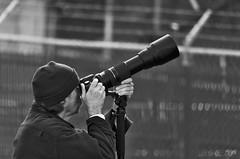 Gotcha! (rdlpix) Tags: portrait blackandwhite bw monochrome lens photography long eagle dam candid birding bald conowingo