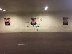 Groningen bij Nacht (ritzotencate) Tags: nacht fav groningen reitdiep jaagpad tunneltje veilig050