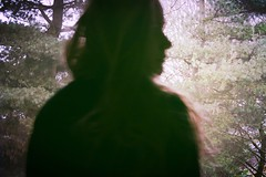 01 (_anke_) Tags: wood trees portrait blur silhouette forest movement blurry messyhair retrospective lookingback 2015 303030