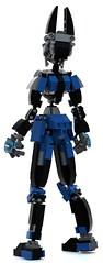 eve 15 (pb0012) Tags: eve blue brick robot lego fembot android mecha mech robo moc ldd mechanoid pb01