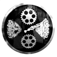 clockworks (Jackal1) Tags: clock hand time dial timepiece squareformat shape clockworks cog ticktock