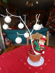 Arreglo Navideo para mesa del Balcon (Christmas Lover in Venezuela) Tags: christmas navidad snowman christmasdecoration holidaydecor christmaslivingroom arbolnavidad arreglofloral adornosnavidad casanavidad saladecoradadenavidad cozychristmasdecoration