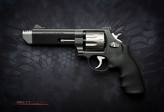 Smith & Wesson 627 V-Comp Left Side (Fly to Water) Tags: gun hand performance smith center special pistol p brake revolver handgun combat magnum muzzle 38 357 tactical 627 wesson compensator compensated vcomp