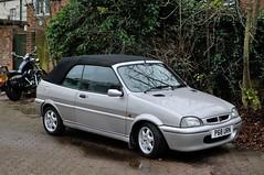 Vintage Stony 2016 - 1996 Rover 114 Cabriolet - P68 URN (Trackside70) Tags: uk cars vintage miltonkeynes 1996 rover stony classiccars newyearsday 114 cabriolet 2016 stonystratford nikkor35mmf18 nikond300s p68urn