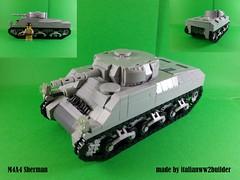 M4A4 Sherman - Updated (italianww2builder) Tags: lego ww2 sherman tank american war battle custom brickarms brickmania lbg