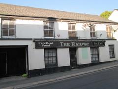 Liskeard Railway Inn (closed) (Bridgemarker Tim) Tags: liskeard pl14 cornwall